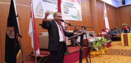 Pidato Perdamaian Presiden the World Peace Committee HE Mr Djuyoto Suntani di Papua, Indonesia