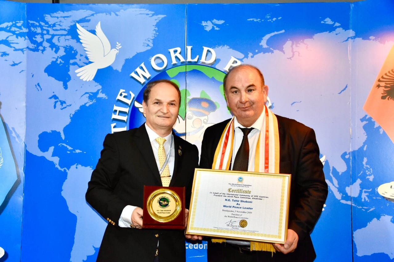 The World Peace Committee Awards the European Figure