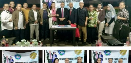 Persiden Dunia Mr Djuyoto Suntani Lantik Pejabat Baru the World Peace Committee di Indonesia