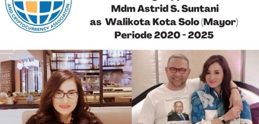 The International World Supports Madam Astrid S Suntani to become Mayor of Solo 2020-2025