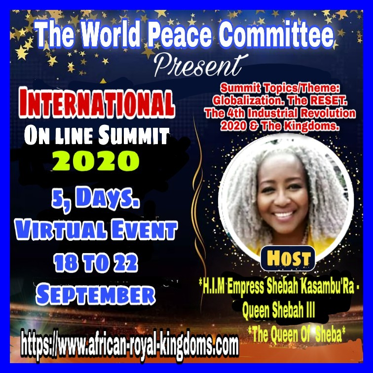 The World Peace Committee Selenggarakan Internasional Virtual Summit 202 Negara