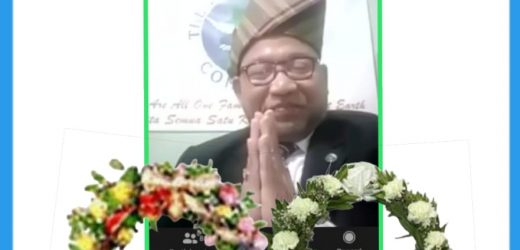 Dr Lalit Kumar Mourned the Death President of The World, Mr Djuyoto Suntani